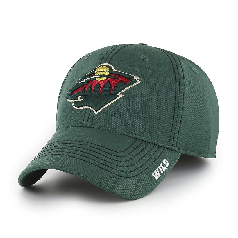 OTS NHL Adult Men's NHL Start Line Center Stretch Fit Hat