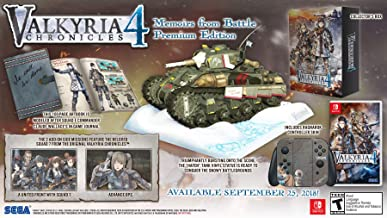 Valkyria Chronicles 4: Memoirs From Battle Edition - Nintendo Switch