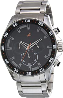 Fastrack Analog Black Dial Men's Watch NM3072SM04 / NL3072SM04