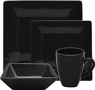 Best black square dinner plates Reviews