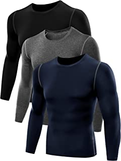 Men's Athletic Compression Sport Running Long Sleeve T Shirt