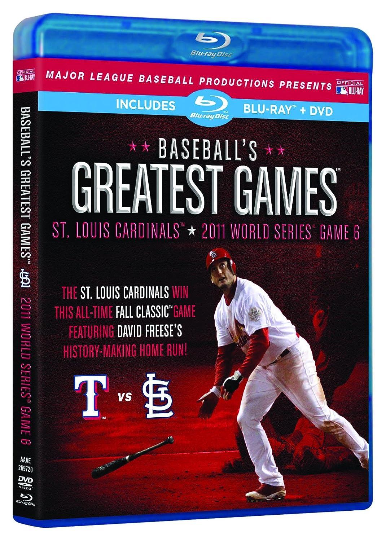 Baseball's Greatest Games: 2011 World Sale SALE% OFF Game 6 supreme Series