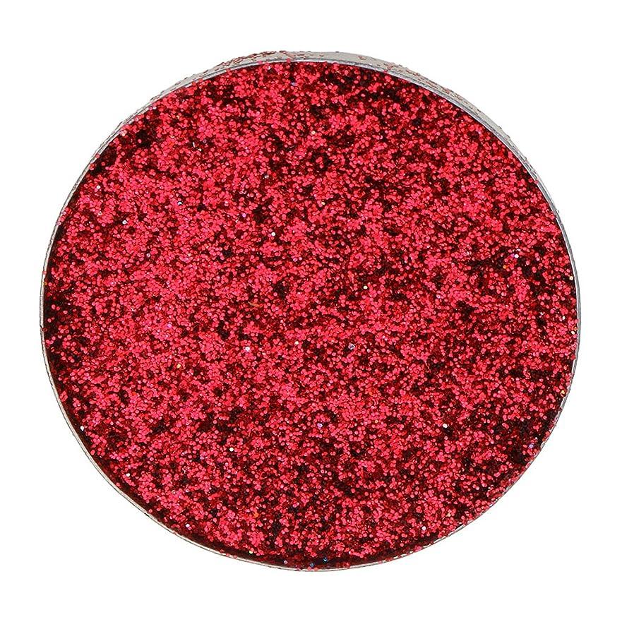 無効にするカウンターパートの頭の上Baosity ダイヤモンド キラキラ シマー メイクアップ アイシャドウ 顔料 若々しい おしゃれ 全5色 - 赤