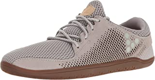 vivobarefoot Primus Trio Women's Everyday Trainer Shoe Running, Frost Grey, 42 D EU (11 US)