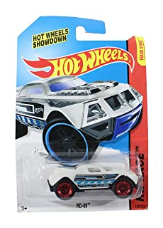لعبة نموذج سيارة سباق للاولاد من هوت ويلز - ابيض
