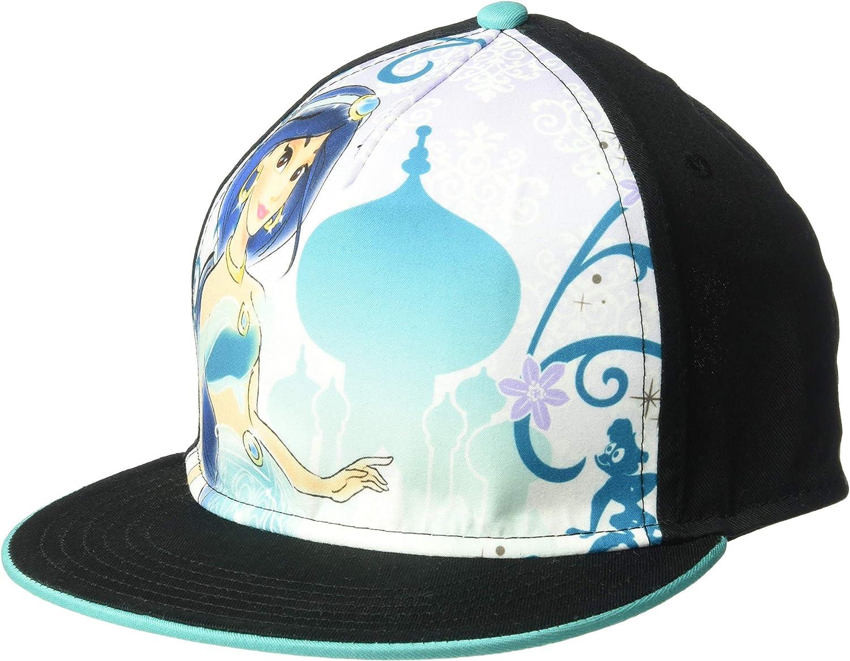 Disney Aladdin Princess Limited time for free shipping Jasmine Adjustable Snapback Topics on TV Cotton Kids