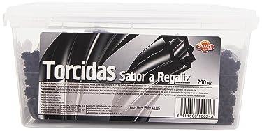 Damel - Torcidas - Sabor y regaliz - 200 unidades