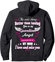Heaven Is A Beautiful Place My Mom Is There Memorial Gift Pullover Hoodie