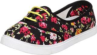 2ROW Women's Floral Multicolor Sneakers