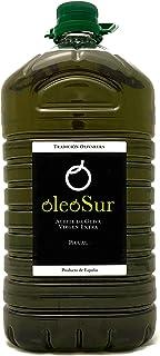 comprar comparacion Oleosur Aceite de Oliva Virgen Extra Picual Jaén Andalucía Primera Calidad Cata Aroma Frutal Ligero Fino Amargor Garrafa 5...