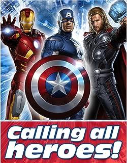 Hallmark Avengers Party Invitations 8/pkg