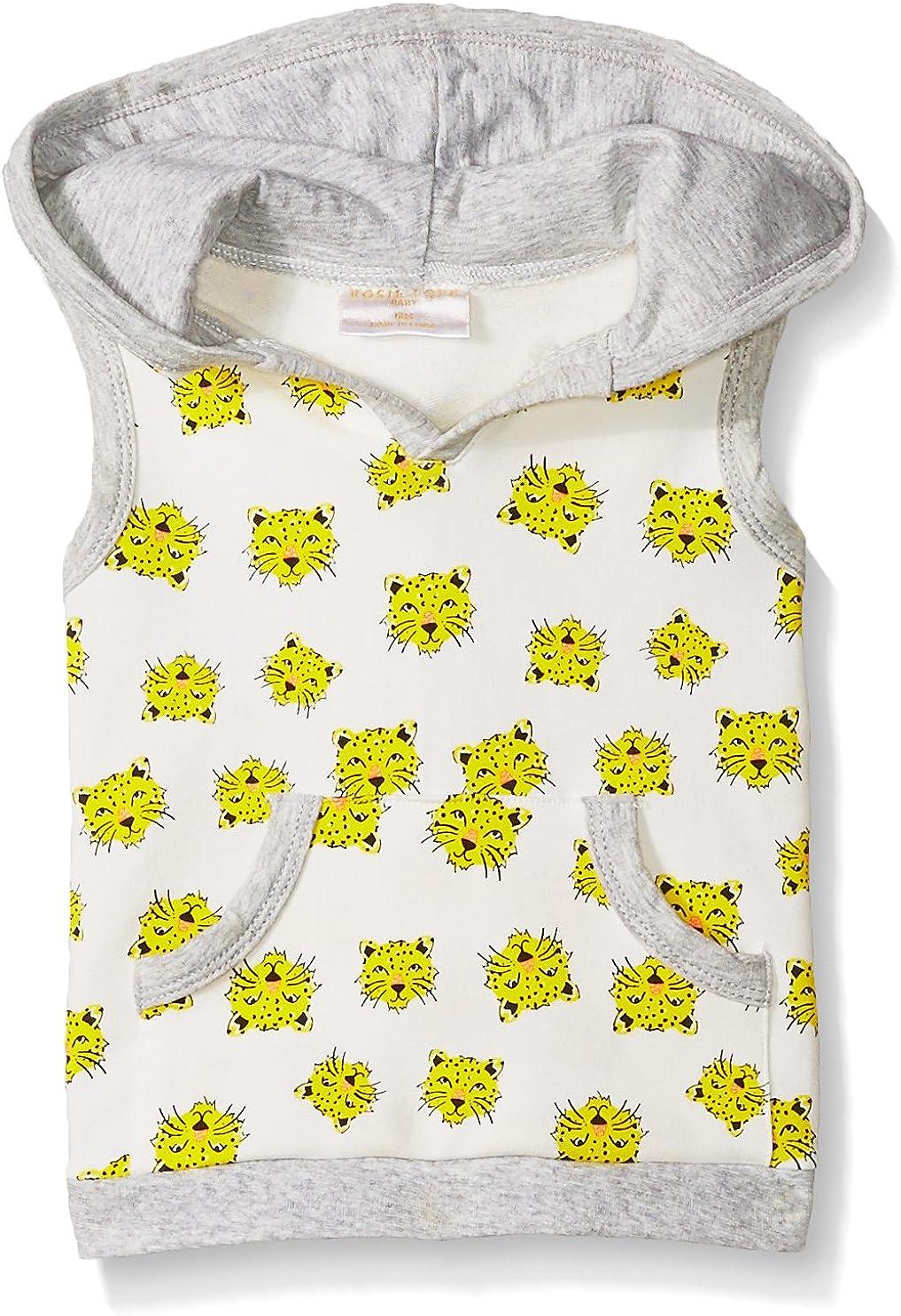 Rosie Pope Baby Boys' Tiger Hoodie Vest