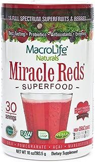 Macrolife Naturals Reds Supplement Powder, 10 oz