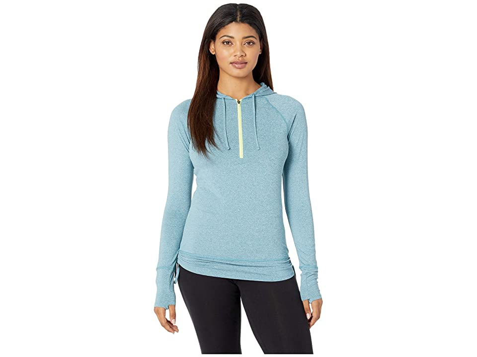 The North Face Shade Me Hoodie (Storm Blue Heather) Women