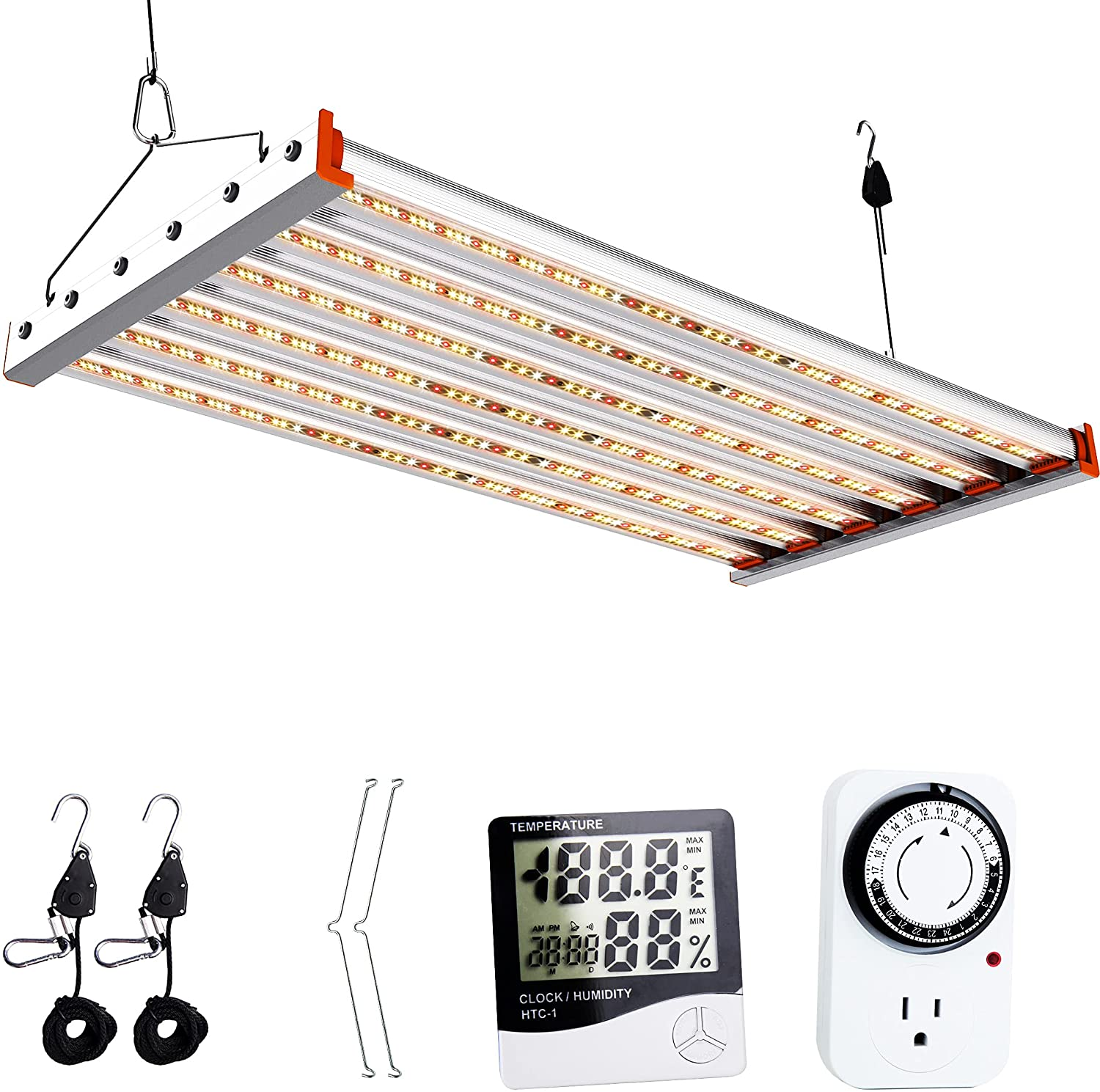 ACKE ALP-400W LED Grow Light 5x5 Veg Mail Selling and selling order for Full Stage Coverage Spe