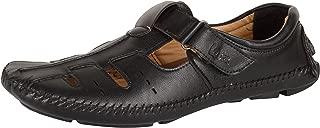 Kolapuri Centre Men's Leather Outdoor Sandals