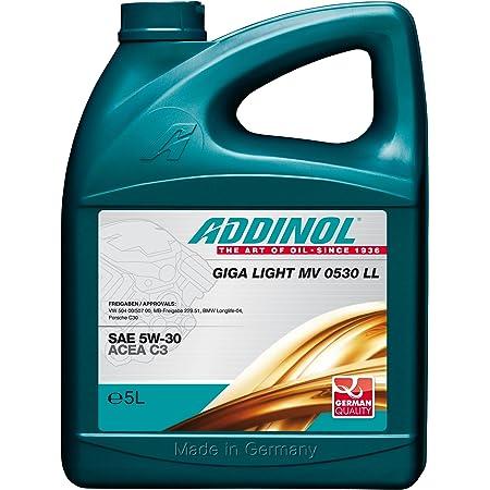 Addinol Giga Light Mv 5w 30 Ll C3 Motorenöl 5 Liter Auto