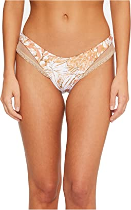 Amor Tobaco Y Ron Mesh High Leg Brazilian Bikini Bottom