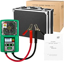 Automotive Battery Tester 6V and 12V DC 4 Digits Display for UPS Battery, Solar Energy Storage Battery, Marine Battery
