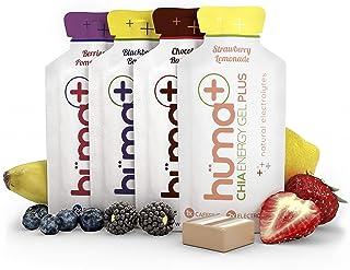 Huma Plus - Chia Energy Gel, Variety, 24 Gels - Natural Electrolyte Enhanced Energy Gel