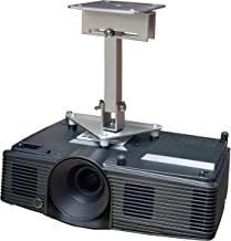 PCMD, LLC. Projector Ceiling Mount Compatible with Infocus IN2112 IN2114 IN2116 IN3114 IN3116 with Lateral Shift Coupling (10-Inch Extension)