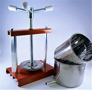 Queso prensa 5,9l con prensa de acero inoxidable cesta (molde) 4,