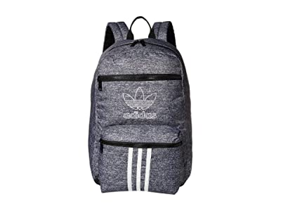 adidas Originals Originals National 3-Stripes Backpack (Onix Jersey/Black) Backpack Bags