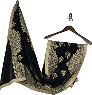 Indian Velvet Punjabi Dupatta/Shawl Perfect Match for Party Suits