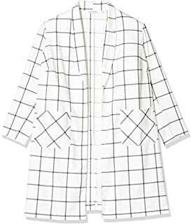 SIMPLY BE Ladies Check Print Duster Jacket Chaqueta para Mujer