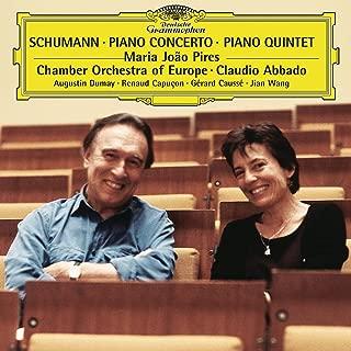 Maria João Pires ~ Schumann - Piano Concerto · Piano Quintet / COE · Abbado - Dumay · Caussé · Capuçon · Wang