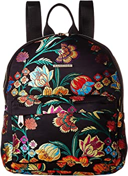 Floral Brocade Midi Dome Backpack