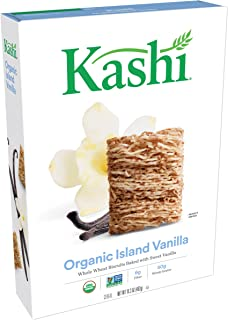 Kashi Organic Cereal, Island Vanilla, 17.5-Ounce Boxes (Pack of 4)