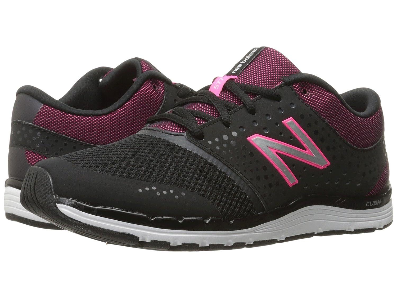 (ニューバランス) New Balance メンズランニングシューズ?スニーカー?靴 WX577v4 Black/Alpha Pink ブラック/ ピンク 7 (25cm) D