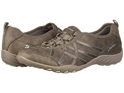 SKECHERS Breathe-Easy Days End (Dark Taupe) Women
