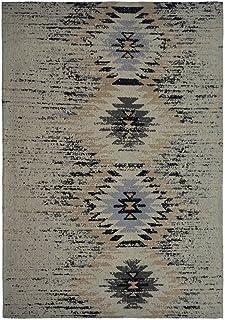 Kayoom Alfombra, Varios, Gris, 80x13x13 cm