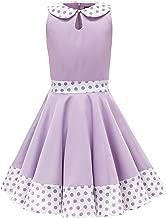 BlackButterfly Kids 'Zoey' Vintage Polka Dot 50's Girls Dress