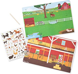 Melissa & Doug Transfer Sticker Scenes Set - Around The Farm Toy