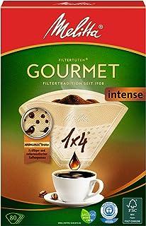 Melitta 2049669 Gourmet Intense Filtre à Café 1 x 4 cm 80 Pièces