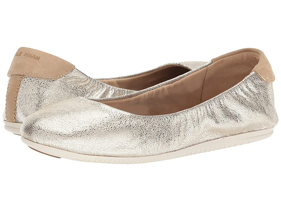 Cole Haan Studiogrand Convertible Ballet Core (Platino Glitter/Metallic Leather/Ivory Nubuck/Ivory) Women
