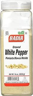 Badia Spices inc 香料, 白胡椒粉, 16-Ounce(453.6g)