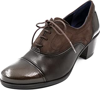 28479948 Fluchos Zapato Abotinado Cordones dorking Disponible EN Colores Burdeos y  Café - 6884-65 y