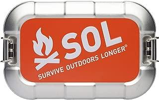 S.O.L Survive Outdoors Longer Traverse Tin Survival Kit
