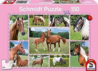 Schmidt Beautiful Horses Jigsaw Puzzle (Piece 150),,