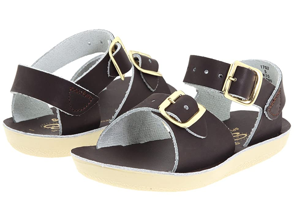 Salt Water Sandal by Hoy Shoes Sun-San Surfer (Toddler/Little Kid) (Brown) Kid