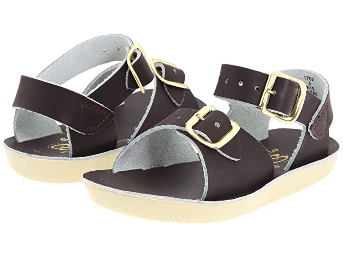 Salt Water Sandal by Hoy Shoes  Sun-San - Surfer (Toddler/Little Kid) (Brown) Kids Shoes