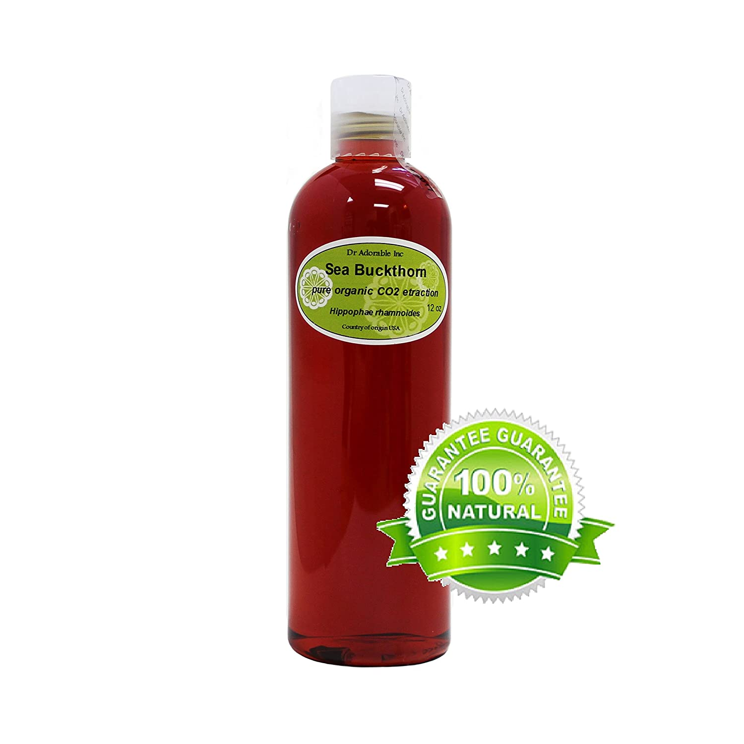 Fresno Mall Sea Buckthorn Carrier Oil Co2 Pure Limited price sale 12 Extracted Oz 100%