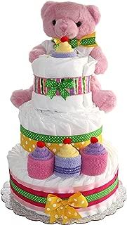 teddy bear diaper cakes ideas