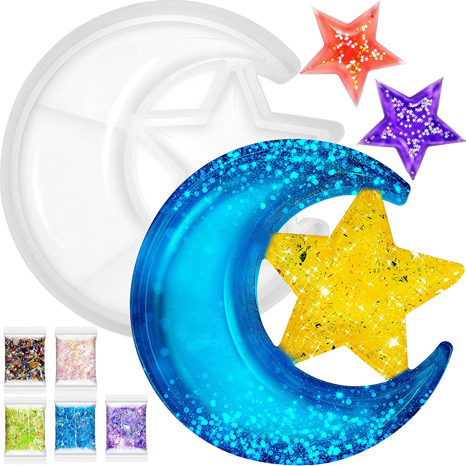Moon Star Tray Resin Box Storage Mould lowest price Crescent sold out