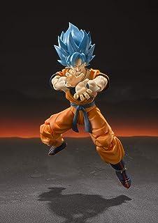Bandai - Figurine DBZ - Super Saiyan God Son Goku Blue Sh Figuarts 14cm - 4573102557001