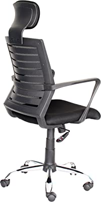 Top Power - Silla de Oficina con Respaldo Alto, diseño ergonómico, Altura Ajustable